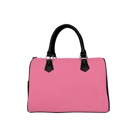 Deep Pink Boston Handbag (Model 1621) - kdb solution