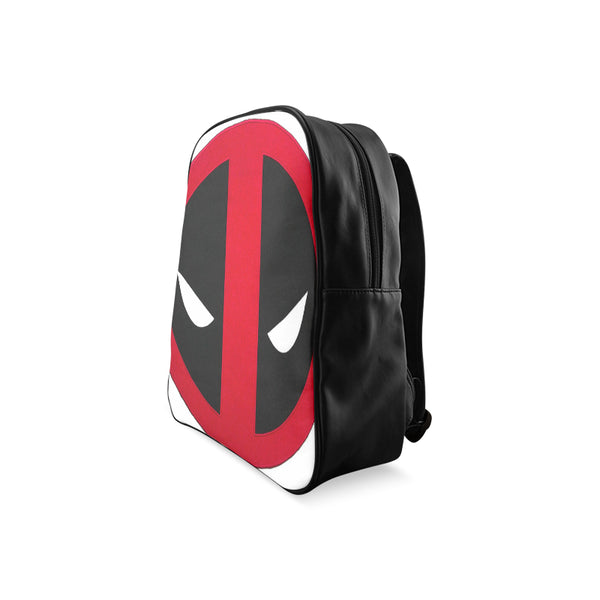 Deadpool School Backpack/Large (Model 1601) - kdb solution