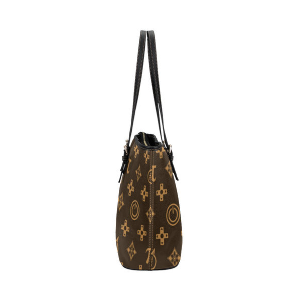 Louis Vuitton Pattern Leather Tote Bag/Small (Model 1651) - kdb solution