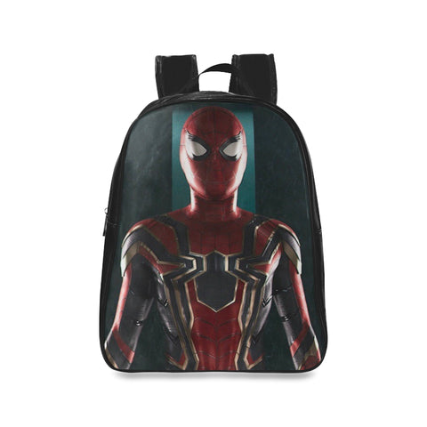 Iron Spiderman School Backpack/Large (Model 1601) - kdb solution