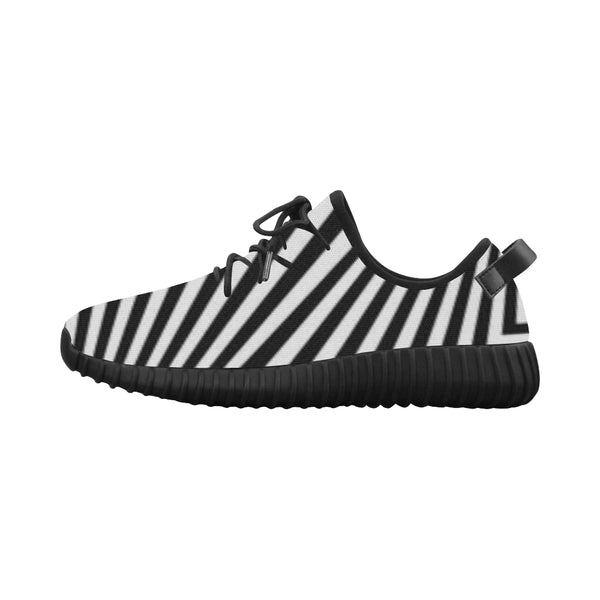 Zebra Patterned  Breathable Running Shoes