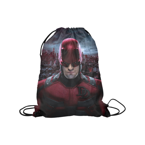 "Daredevil Medium Drawstring Bag Model 1604 (Twin Sides) 13.8""(W) * 18.1""(H) - kdb solution"