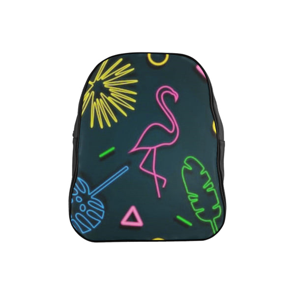 flamingo School Backpack (Model 1601)(Medium) - kdb solution