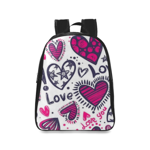 Love School Backpack/Large (Model 1601)