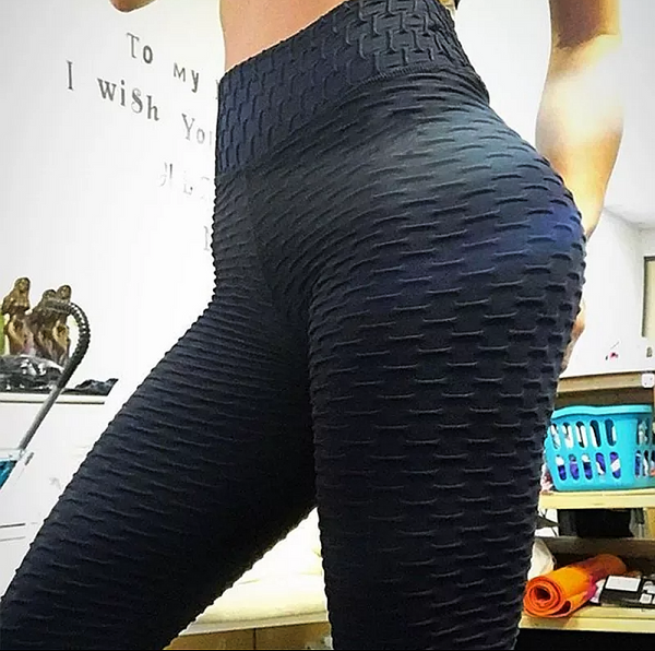 Honeycomb Breathable high waist leggings - kdb solution