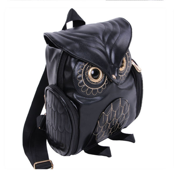Cute Girls Owl Fashion Backpack - kdb solution