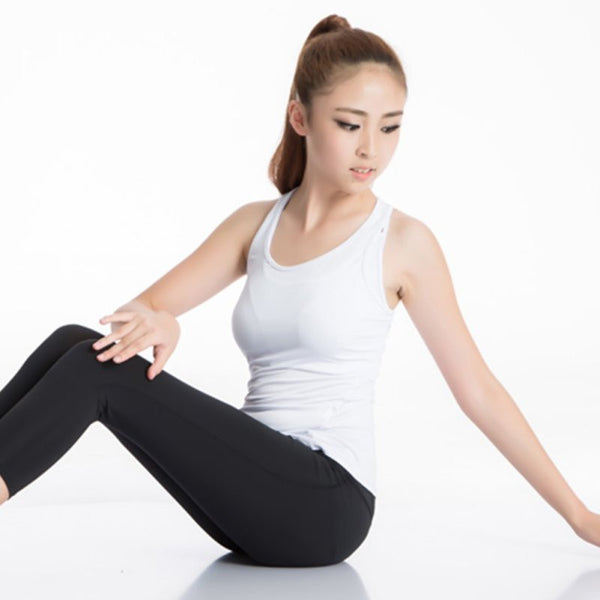 Quick-Drying Women Sports Vest Tights PRO Running Yoga Fitness Vest Shirts Tee Note* Please allow 2-3 weeks for Delivery - kdb solution