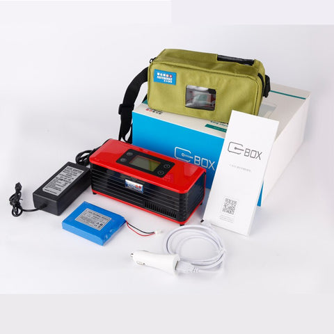 Diabetic Mini Insulin Cooler Box Rechargeable fridge ice box travel bag - kdb solution