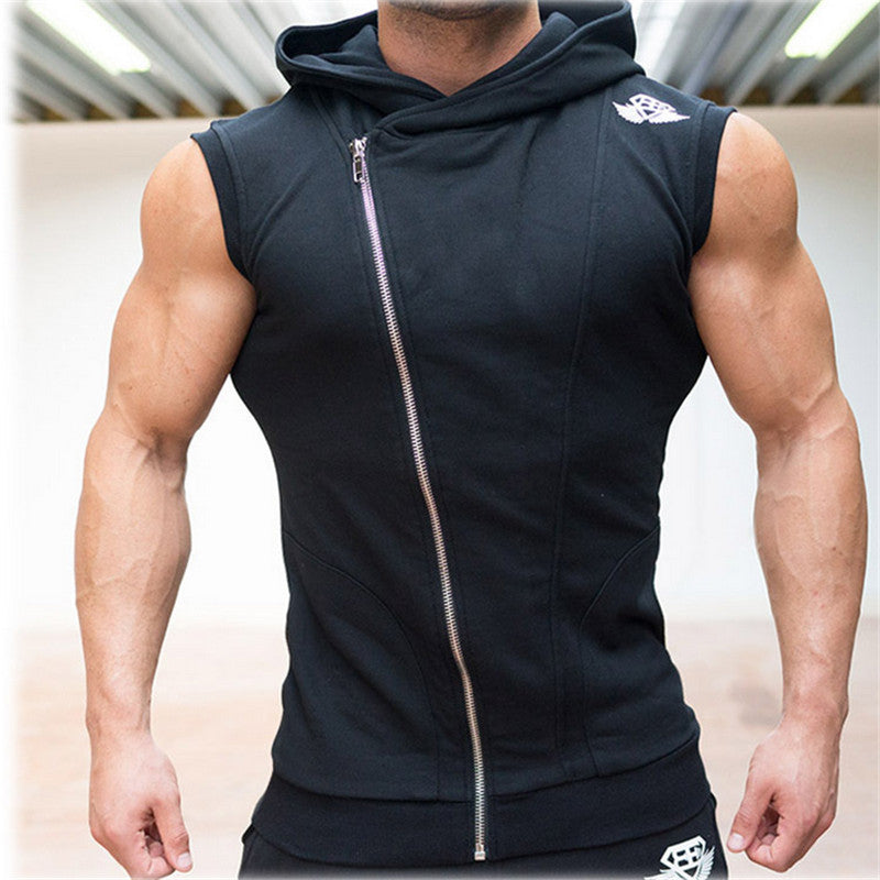 Men Tank Top Bodybuilding Stringer Hoodies Sleeveless Singlets Shark Skull Shirt Clothing Academia Sexy  jersey Note* Please allow 2-3 weeks for Delivery - kdb solution