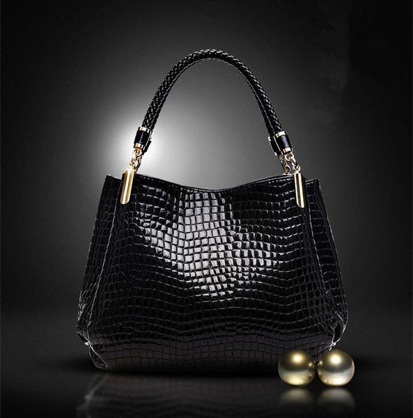 2017 New  Leather Bolas Women Bags Shoulder Bag Female Tote Crocodile messenger bags NOTE* Please allow 2-3 weeks for Delivery - kdb solution