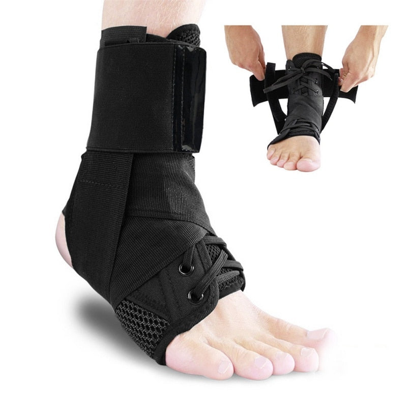 Adjustable Ankle Protectors Supports Guard Foot Stabilizer Bandage Protection - kdb solution