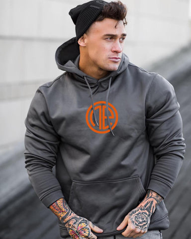 Mens fitted Hoodies Gyms Brand Clothing - kdb solution