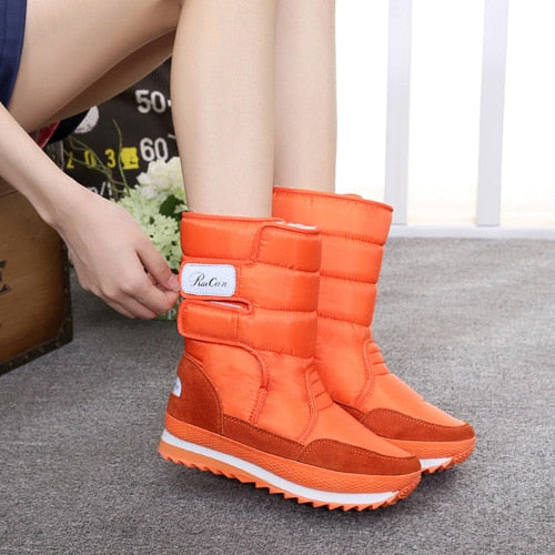 Women snow boots non-slip waterproof winter boots - kdb solution