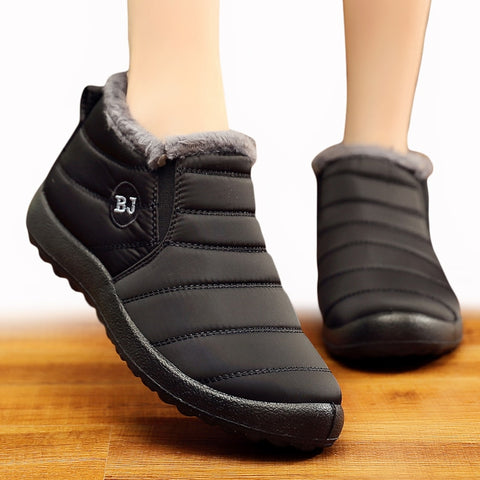 Womens ankle Winter Snow Boots available in Plus Sizes - kdb solution