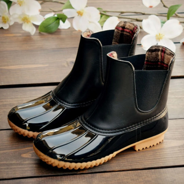 Womens rubber sole Akle winter boots - kdb solution