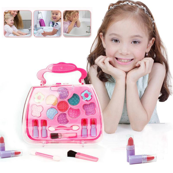 Kids Makeup set pretend princess play non-toxic cosmetic toy - kdb solution