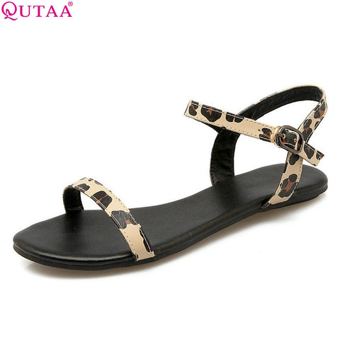 Women's fashion leopard print sandals size 34- 43 - kdb solution