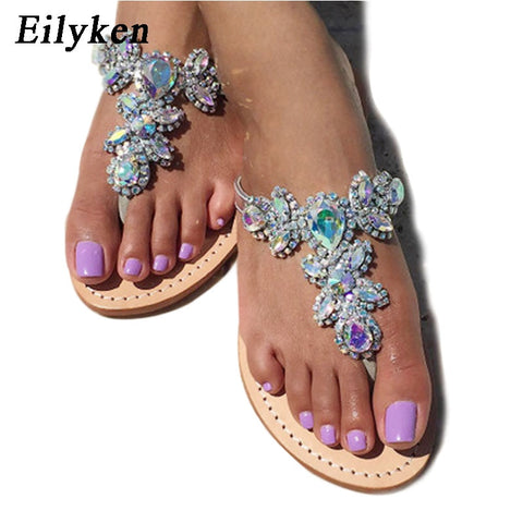 Women's rhinestone Crystal sandals available in sizes 35 -43 - kdb solution