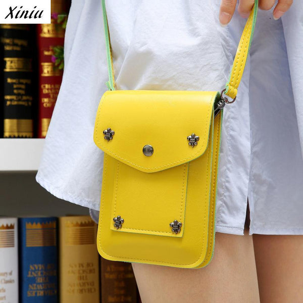 Girl Handbags Five Small Rivets Women Mini Shoulder Messenger Bag Handbag #2415 NOTE* Please allow 2-3 weeks for Delivery - kdb solution