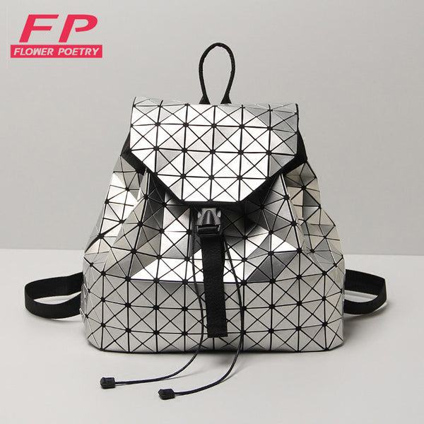Laser Geometric Bao Bao Women Backpack Bags - kdb solution