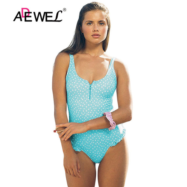 One Piece Monokini Push Up bathing suit S-XL - kdb solution