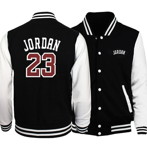 Men's basketball style autumn jacket
