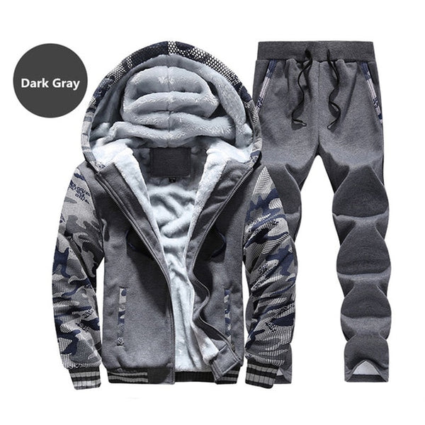 Camouflage Windproof Warm Tracksuit