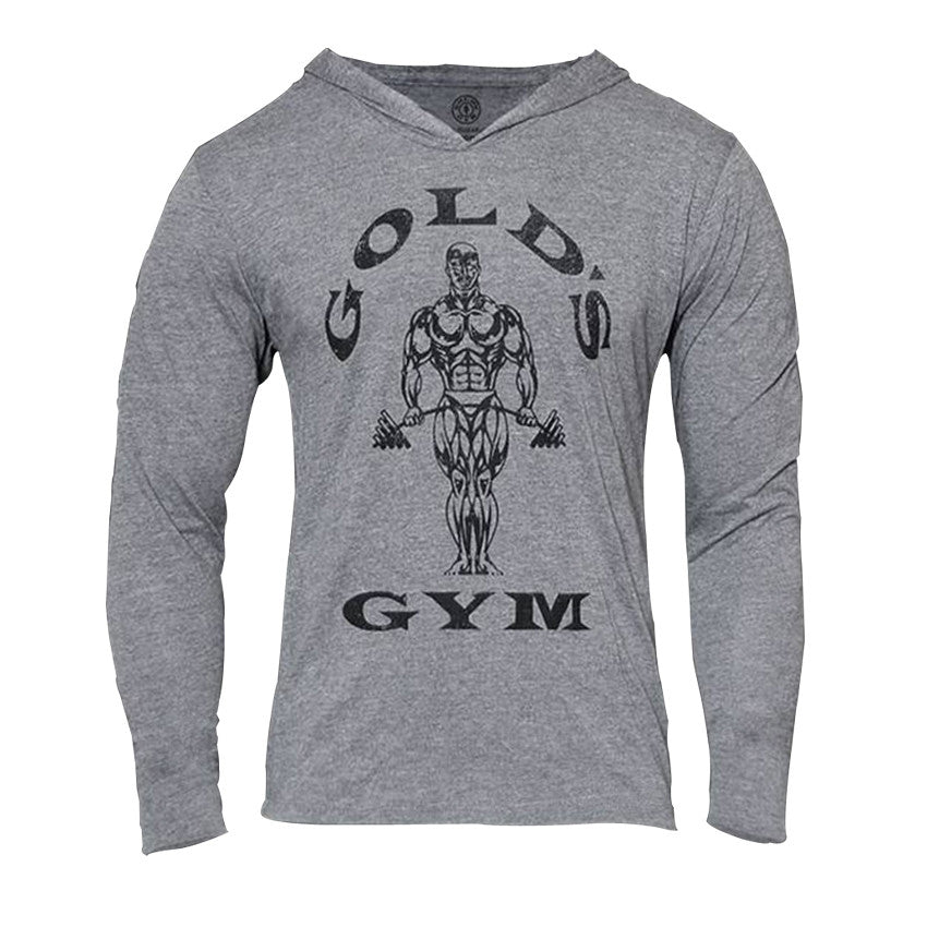 Golds Gyms Hoodies Bodybuilding Clothing Long sleeve Fitness Muscle Sweatshirt Men Cotton Slim Tracksuit Home Pullover moletons - kdb solution