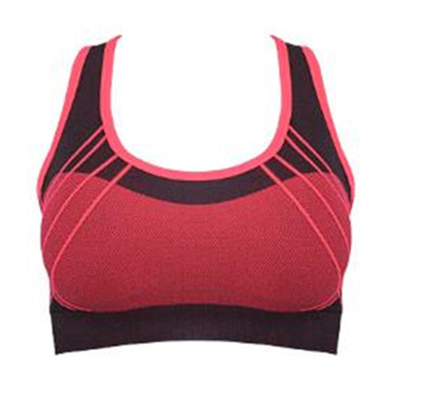 Women Fitness Yoga Sports Bras Quick-drying Push Up Seamless - kdb solution