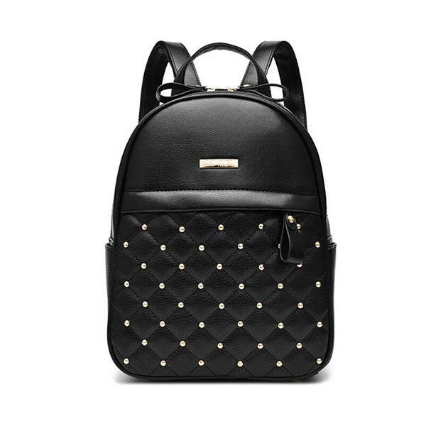 Women Pu Leather Backpack - kdb solution