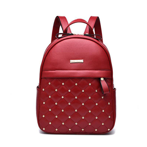 2017 Women Pu Leather Backpack - kdb solution