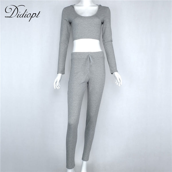 2 Piece Set Tracksuit Women Sportswear Yoga Set - kdb solution