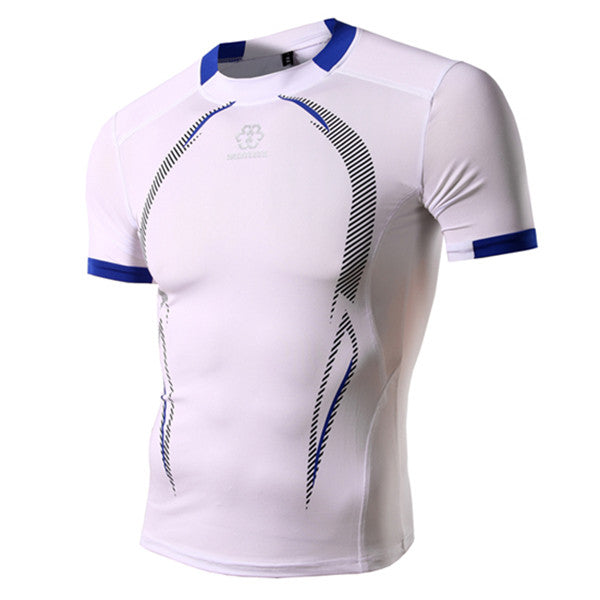 Mens Quick Dry Brand New T Shirt Armour Fitness Compression Slim Fit T-Shirts M-XXL
