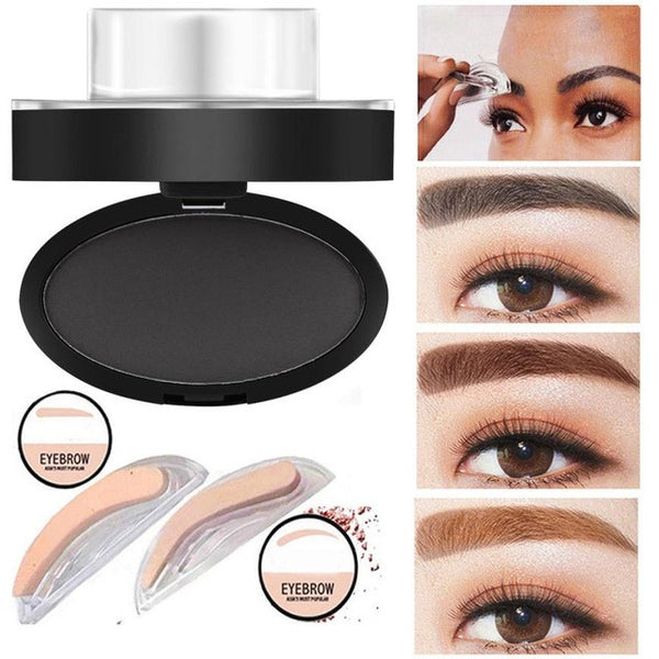 1PC High Quality Professional Natural Eyebrow Stamp Beauty Makeup Tool Quick Makeup #705 - kdb solution