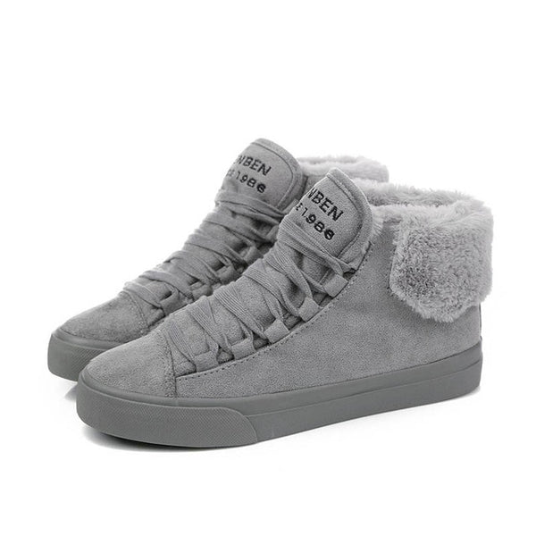 Plush Women suede Warm winter  Boots - kdb solution