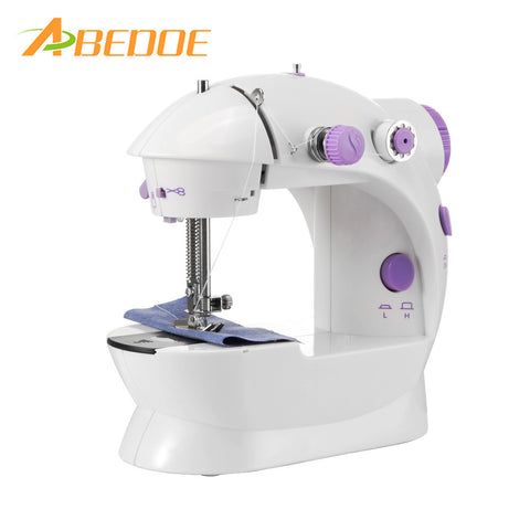 Portable Mini Multifunction Automatic Sewing Machine with Foot Pedal/Light/Cutter for Sew - kdb solution