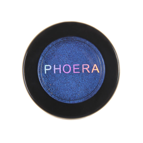 PHOERA Glitter Shimmering Colors Eyeshadow Metallic Eye Cosmetic - kdb solution