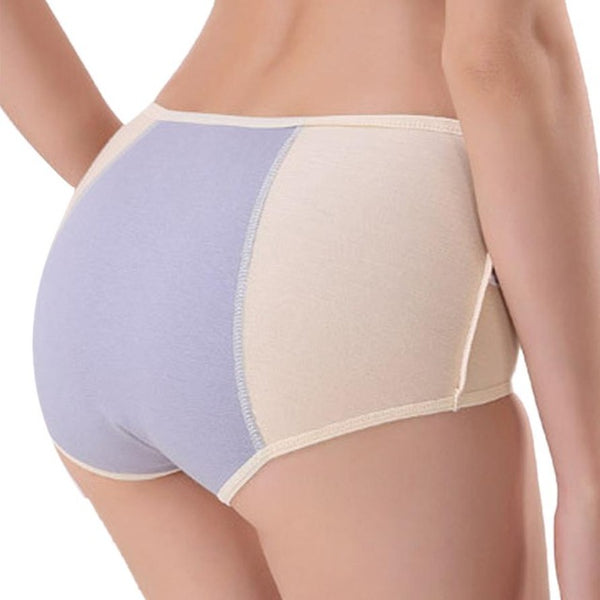 JAYCOSIN Women's Secret Pocket Underwear Solid Comfy Briefs - kdb solution