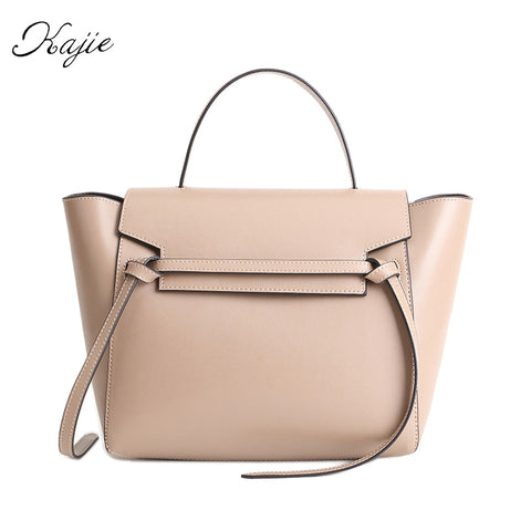 Kajie New Trapeze Catfish Luxury Womens Genuine Leather Shoulder Bag - kdb solution