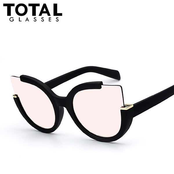 Totalglasses  Round Shade Summer Fashion Sunglasses Women Vintage Brand Designer Glasses For Ladies Gafas Retro Oculos - kdb solution