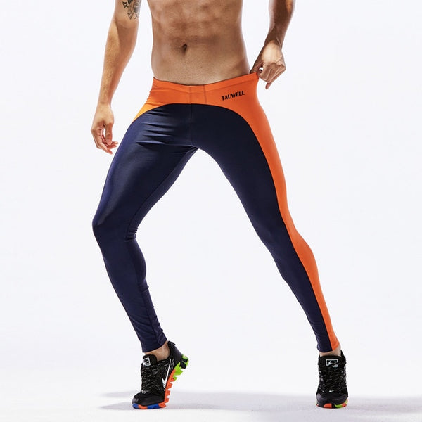Men's Running Compression Pants Skinny sport Leggings Gym Wear - kdb solution