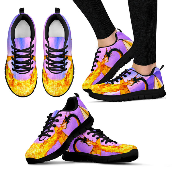 """The Dragon's Song Of Fire"" Sneakers (Women)"