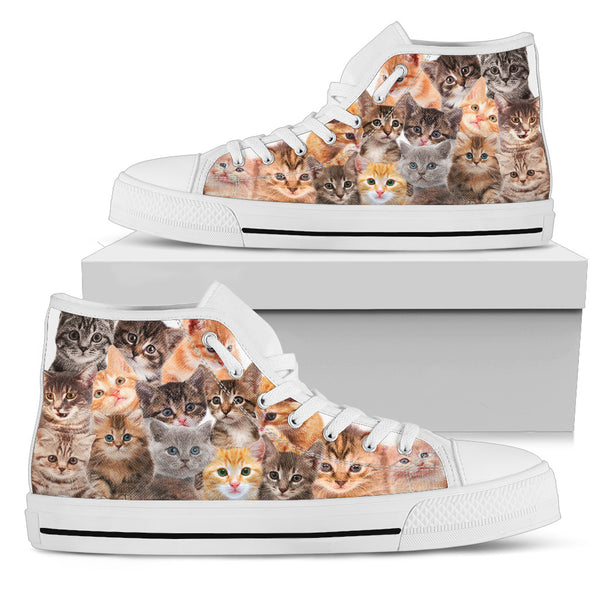 "Men's ""Cool Cats"" High Top Shoes"