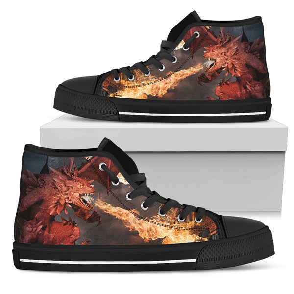 Women's Dragon Fire High Top Shoes