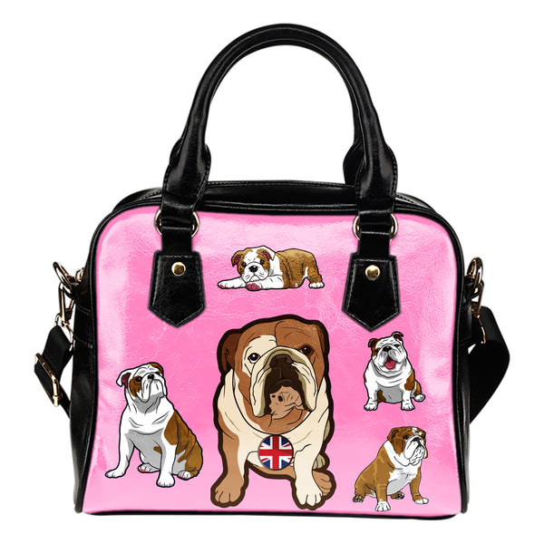 English Bulldog Shoulder Bag