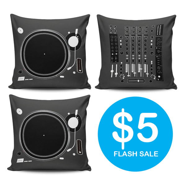 Jammin' Turn Table Pillows