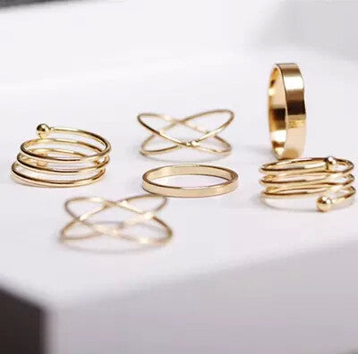 Special 6 Ring Set for Girls