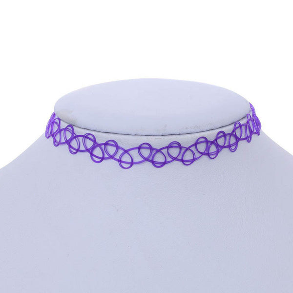 Unique Elastic Choker Necklace