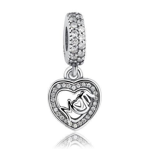 Lovely Special Silver Dangle Charms