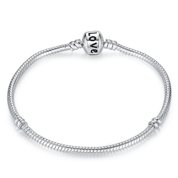 Silver Plated Chain Bracelet